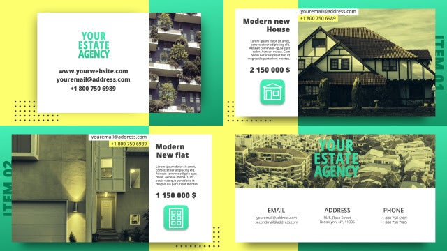 Fresh Estate Promo: After Effects Templates