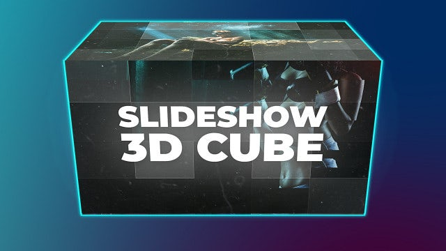 Slideshow Cube - After Effects Templates | Motion Array