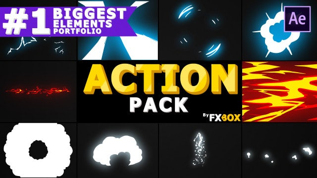 Dynamic Elements Pack: After Effects Templates
