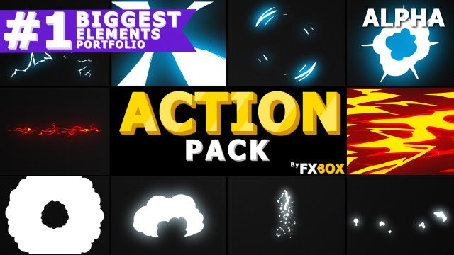 Dynamic Elements Pack: Stock Motion Graphics