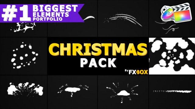 Christmas Elements: Final Cut Pro Templates