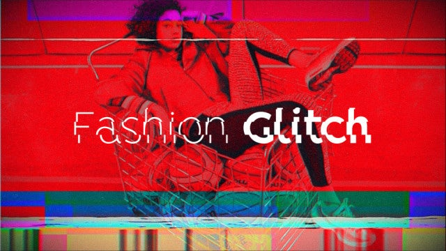 Fashion Glitch Opener: After Effects Templates