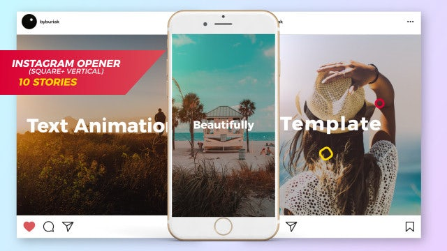 Summer Instagram Opener And Stories: After Effects Templates
