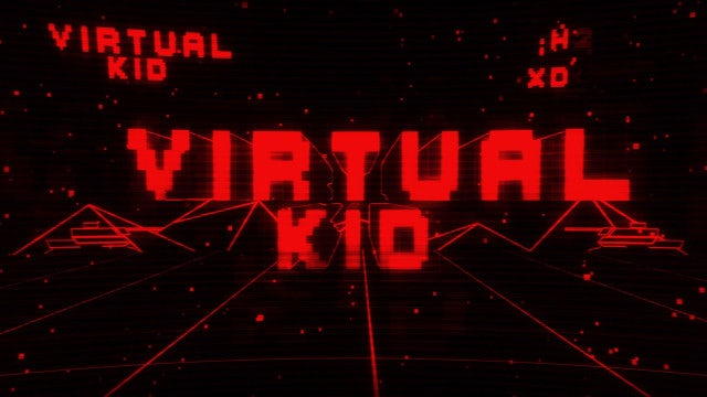 Virtual Kid Title Reveal: After Effects Templates
