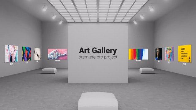 Art Gallery: Premiere Pro Templates