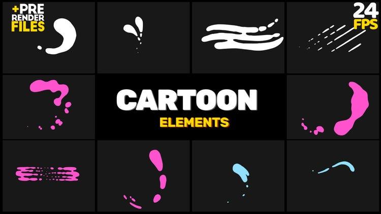 Cartoon Animation: Stock Motion Graphics