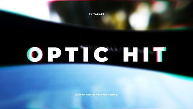 Optic Hit: Premiere Pro Presets