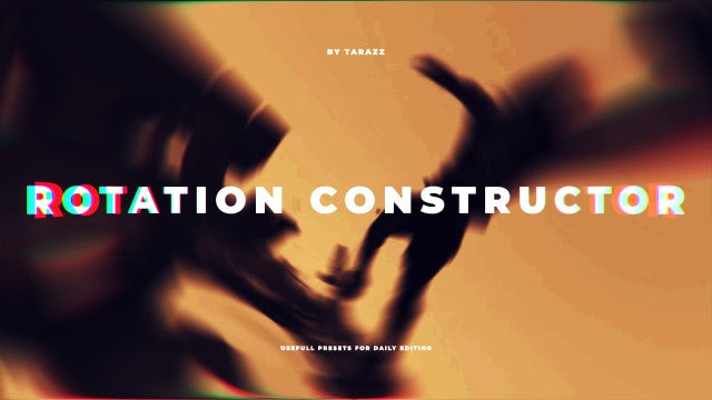 Rotation Constructor: Premiere Pro Presets