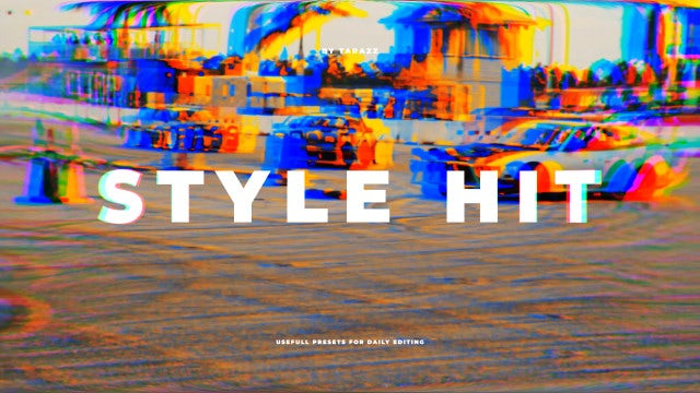 Style Hit: Premiere Pro Presets