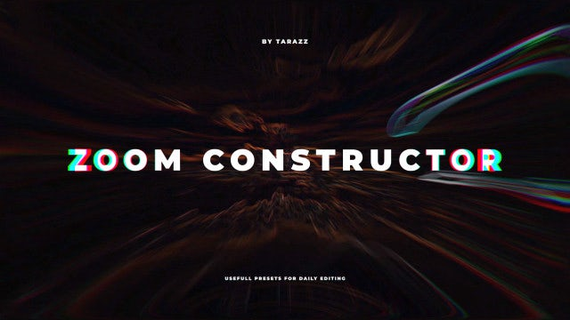Zoom Constructor: Premiere Pro Presets