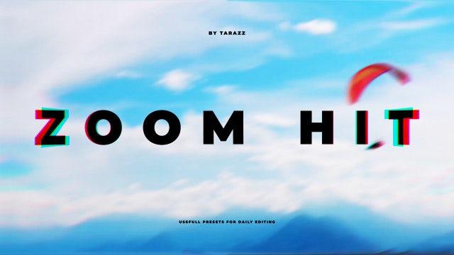 Zoom Hit: Premiere Pro Presets