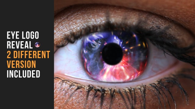 Eye Logo Reveal: After Effects Templates