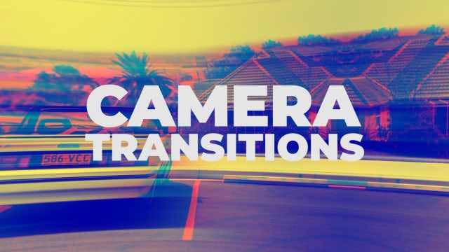 Camera Light Transitions: Premiere Pro Presets