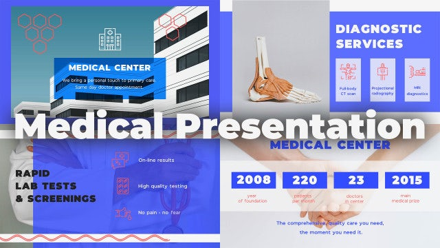 Medical Presentation: Premiere Pro Templates