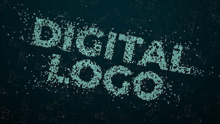 Digital IT Logo: After Effects Templates