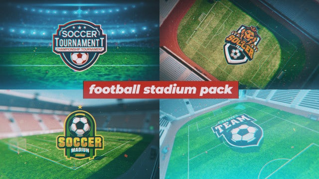 Football Stadium Pack: After Effects Templates