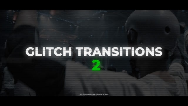 Glitch Transitions 2: Premiere Pro Presets