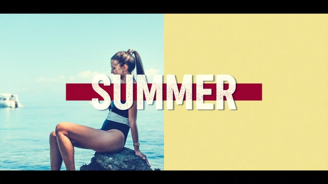Summer Logo: After Effects Templates