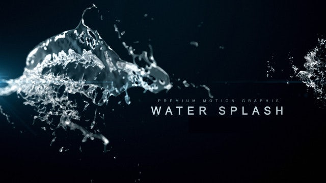 Water Splash: Stock Motion Graphics