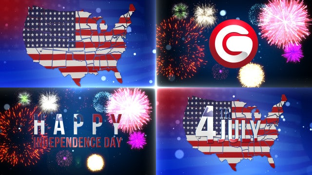 Independence Day Logo Reveal: Premiere Pro Templates