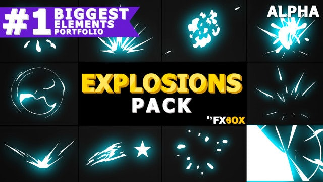 Cartoon Explosions: Stock Motion Graphics