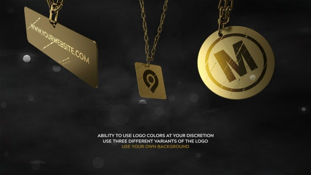 Medallion | 3D Logo Reveals: After Effects Templates