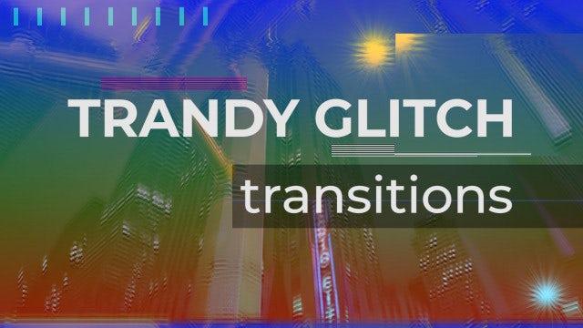 Trendy Glitch Transitions: Premiere Pro Presets