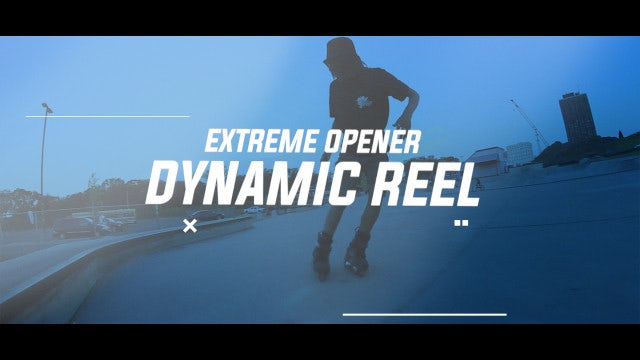 Energy Extreme Promo: After Effects Templates