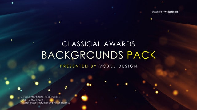 Awards Pack: Stock Motion Graphics