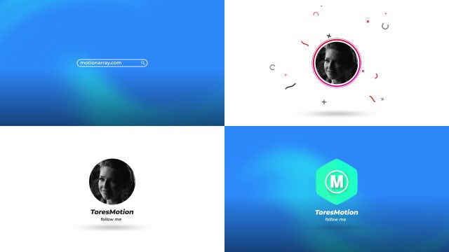 Search Simple Logo: After Effects Templates