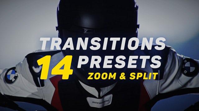 Transitions V.4: Premiere Pro Presets