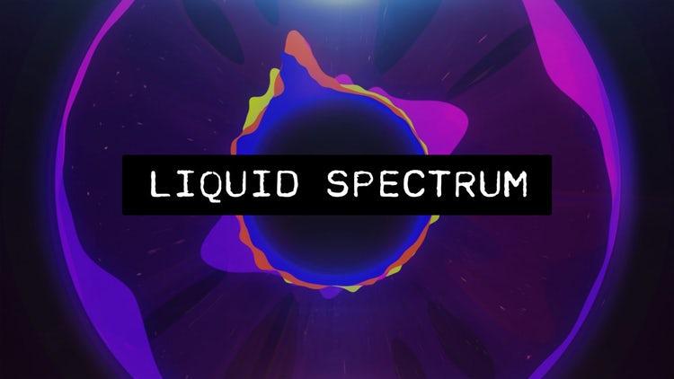 Liquid Audio Spectrum - After Effects Templates | Motion Array