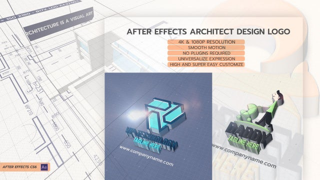After Effects Architect Design Logo: After Effects Templates
