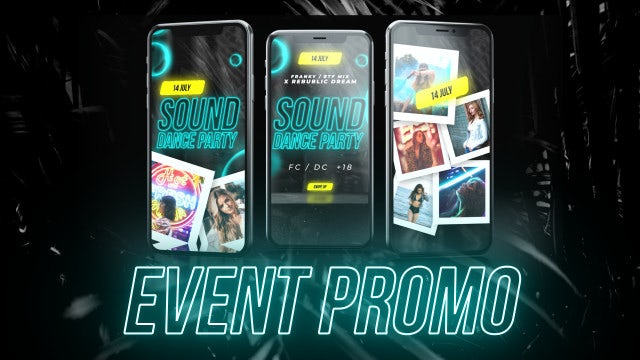 Instagram Stories Opener Event: After Effects Templates