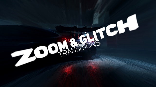 Zoom Glitch Transitions: Premiere Pro Presets