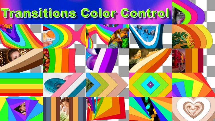 Transitions Color Control: After Effects Templates