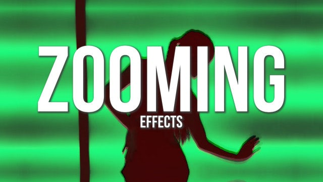 Zooming Effects: Premiere Pro Presets