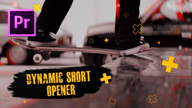 Dynamic Short Opener: Premiere Pro Templates