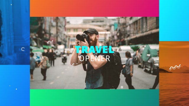 Travel Opener: Premiere Pro Templates