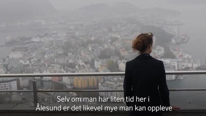 SAS destinasjon Ålesund