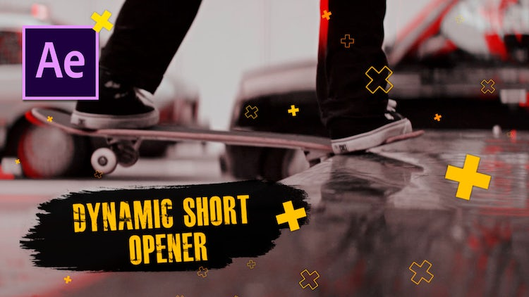 Dynamic Short Opener: After Effects Templates