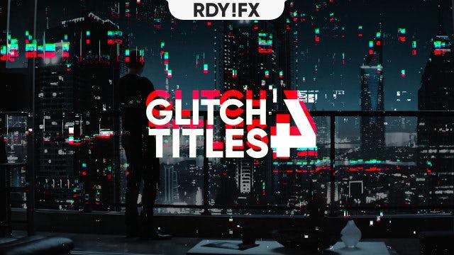 Cyberpunk Glitch Transition - Premiere Pro Templates | Motion Array