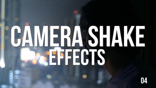 Camera Shake Effects: Premiere Pro Presets