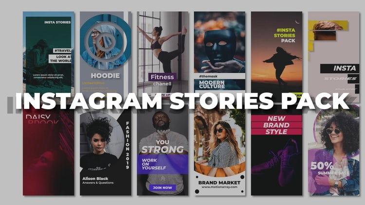 Instagram Stories: Premiere Pro Templates