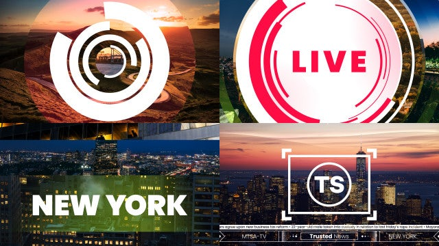 News Broadcast Opener: After Effects Templates