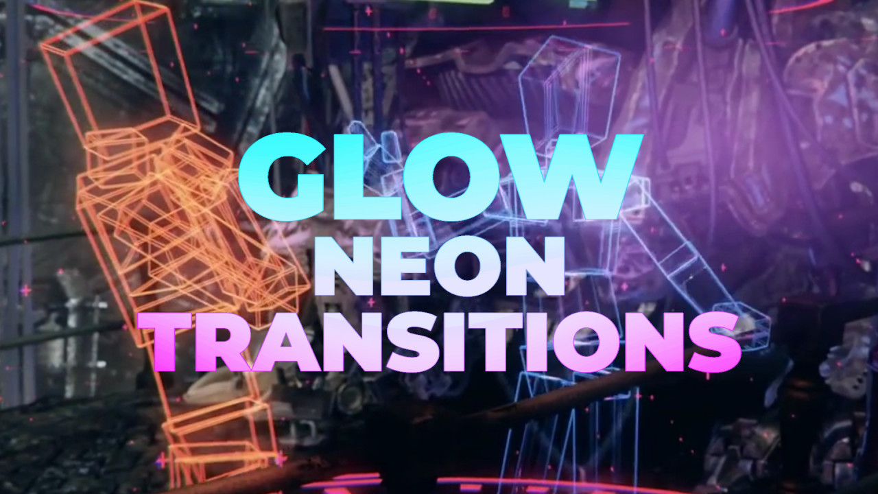 Glow Neon Transitions - Premiere Pro Presets | Motion Array