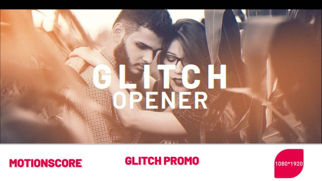 Glitch Promo: After Effects Templates