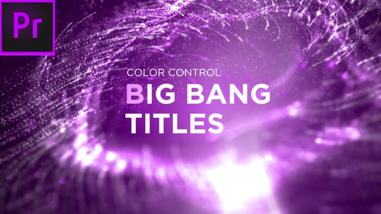 Big Bang Titles: Premiere Pro Templates