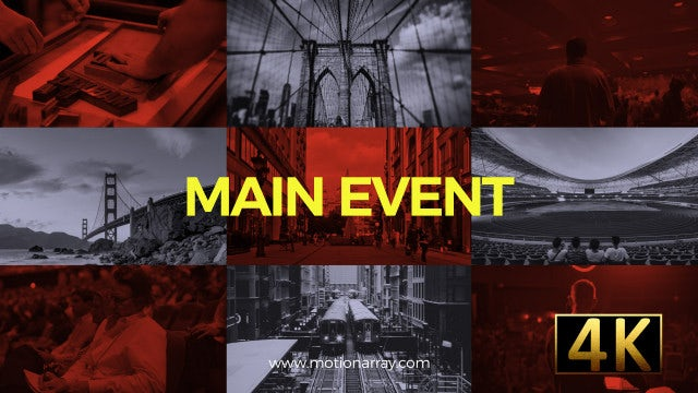 Main Event: After Effects Templates