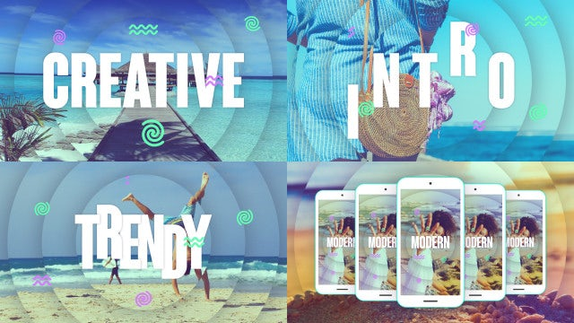 Creative Intro: After Effects Templates